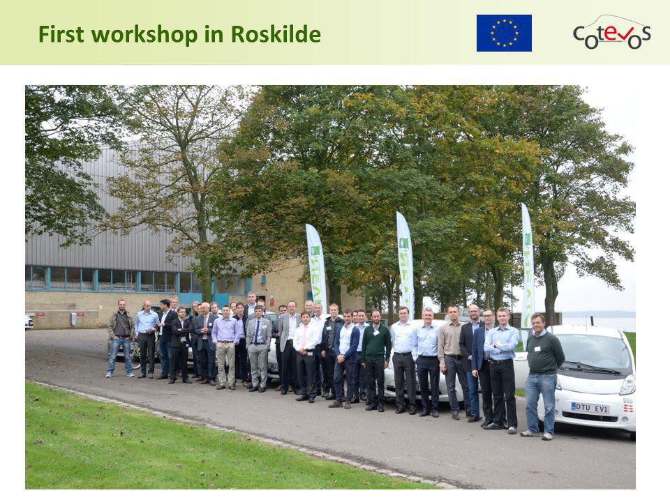 First workshop in Roskilde