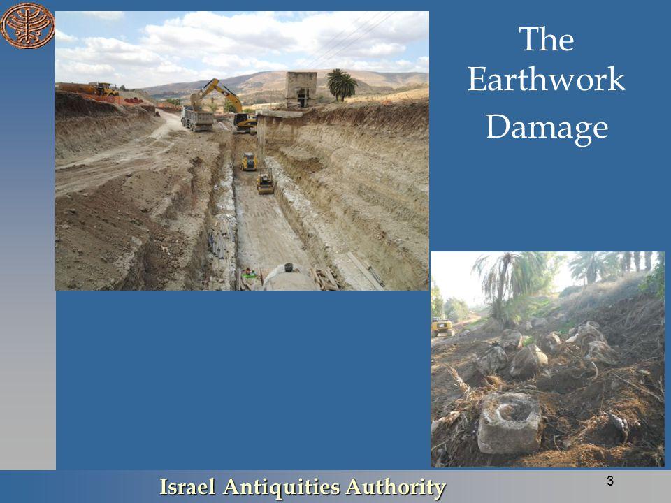 The Earthwork Damage Israel Antiquities Authority 3