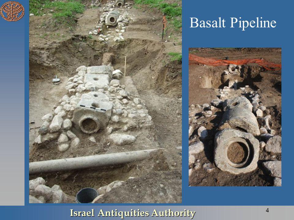 Basalt Pipeline Israel Antiquities Authority 4