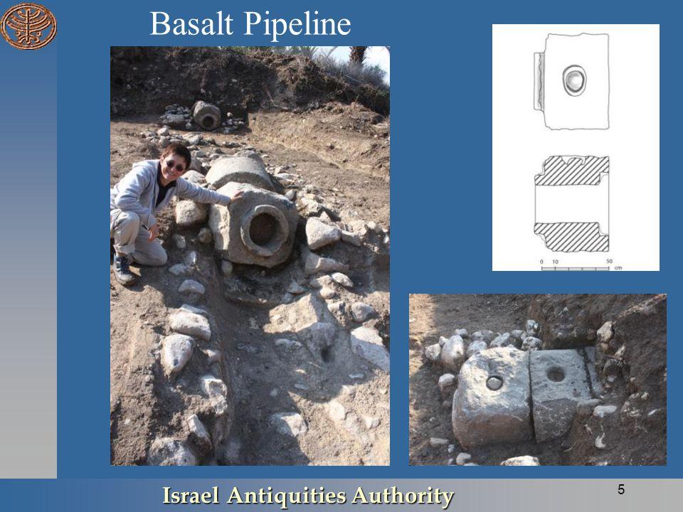 Basalt Pipeline Israel Antiquities Authority 5