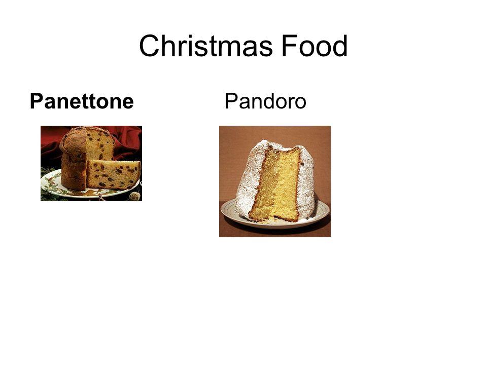 Christmas Food Panettone Pandoro