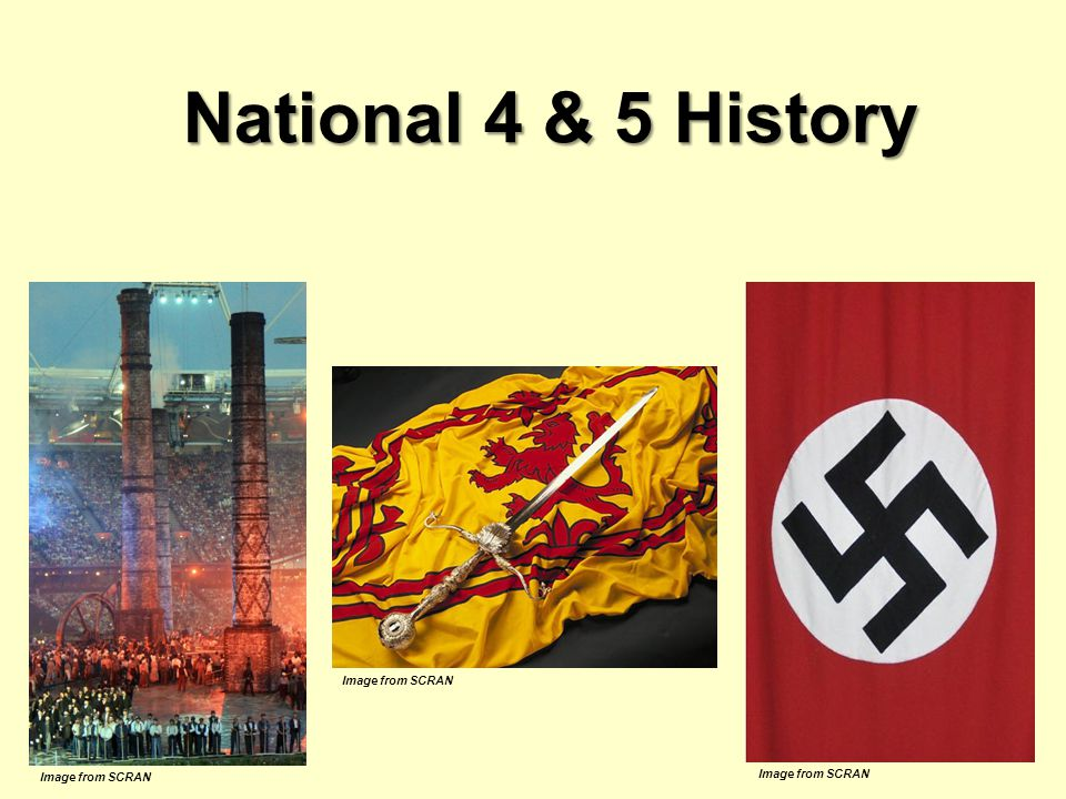 National 4 & 5 History Image from SCRAN