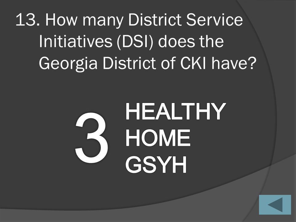 12. What year did the Georgia District of CKI celebrate its 50 th year anniversary