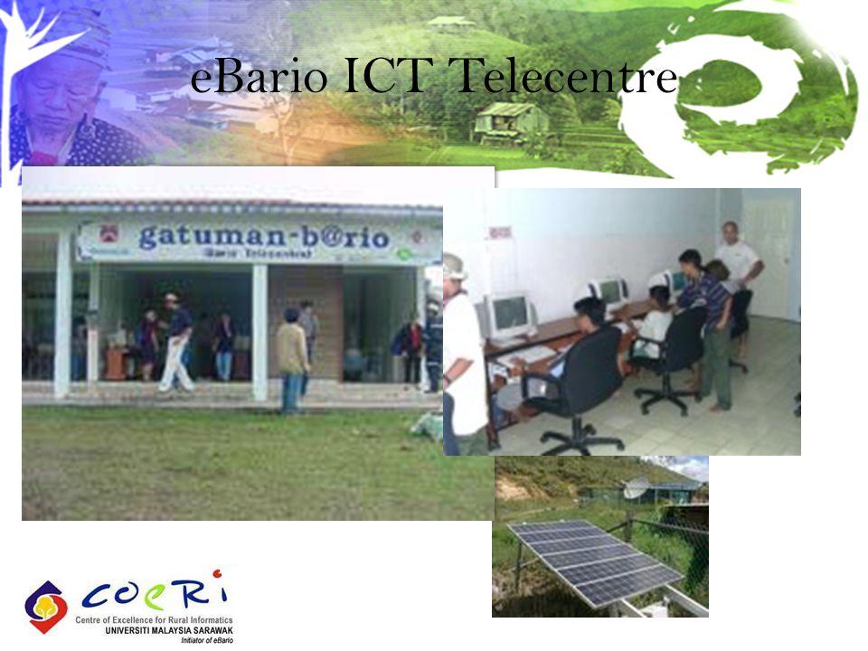 eBario ICT Telecentre
