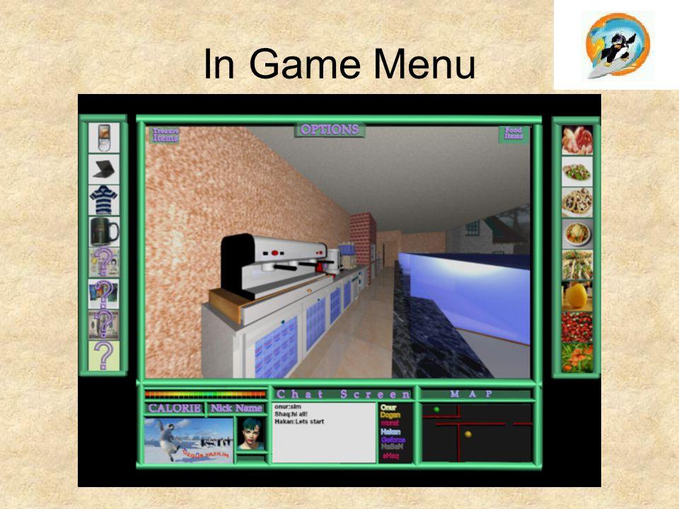 In Game Menu