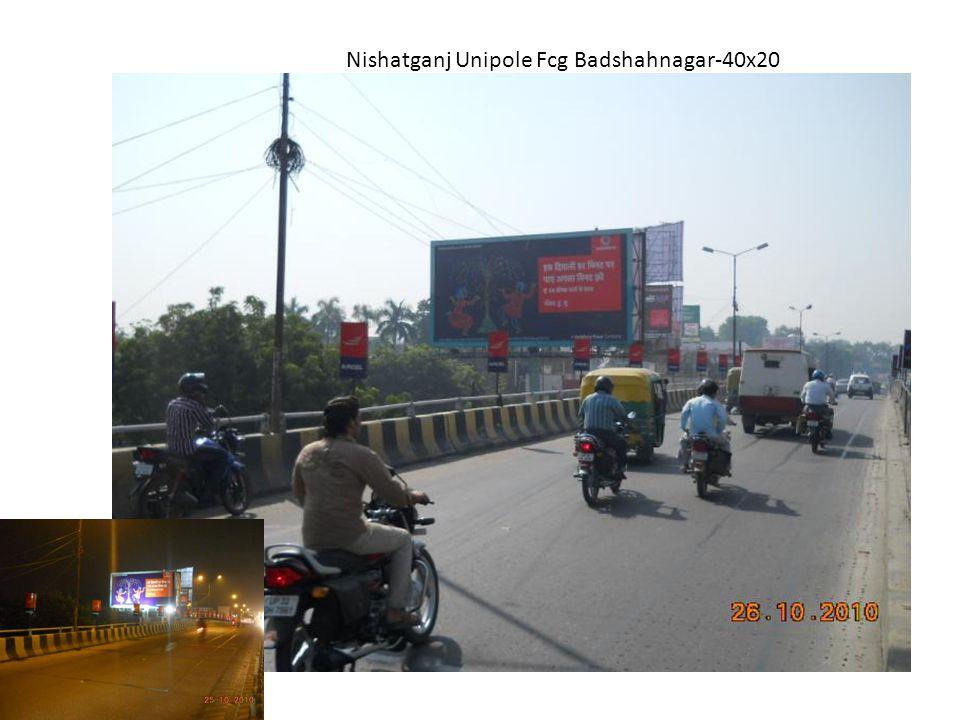 Nishatganj Unipole Fcg Badshahnagar-40x20