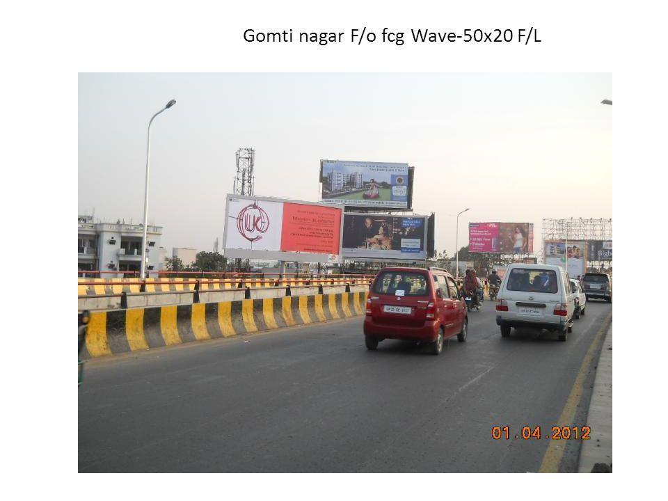 Gomti nagar F/o fcg Wave-50x20 F/L