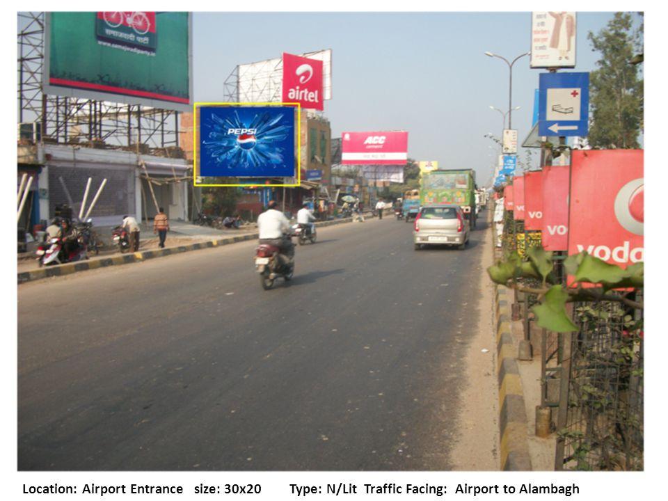 Location: Faizabad Road Size: 20X20Type: N/Lit Traffic Facing: Bhootnath to Badshahnagar