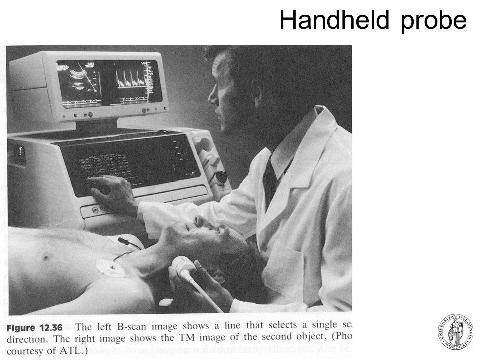 Fysisk institutt - Rikshospitalet 6 Handheld probe