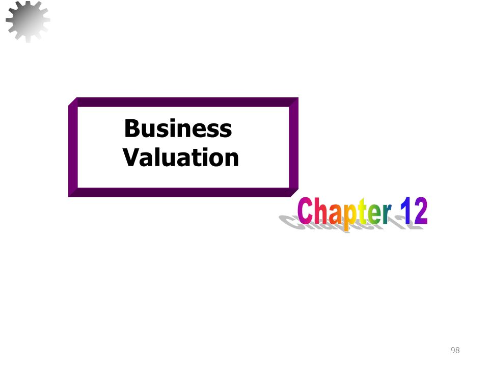 Learning Objectives Understand the importance of business valuation.