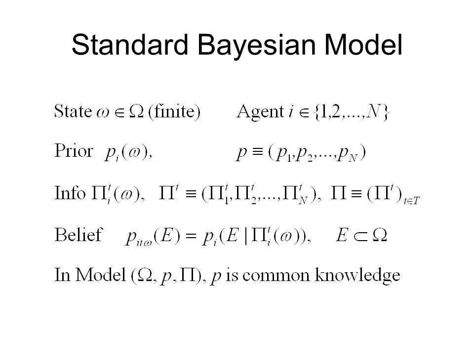 Standard Bayesian Model