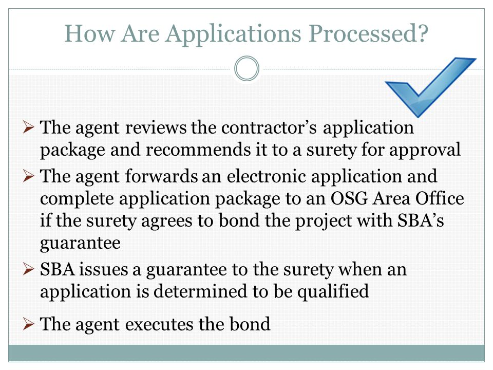 How Are Applications Processed.