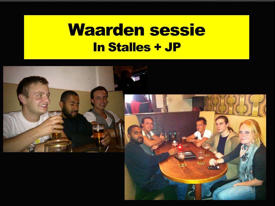 Waarden sessie In Stalles + JP