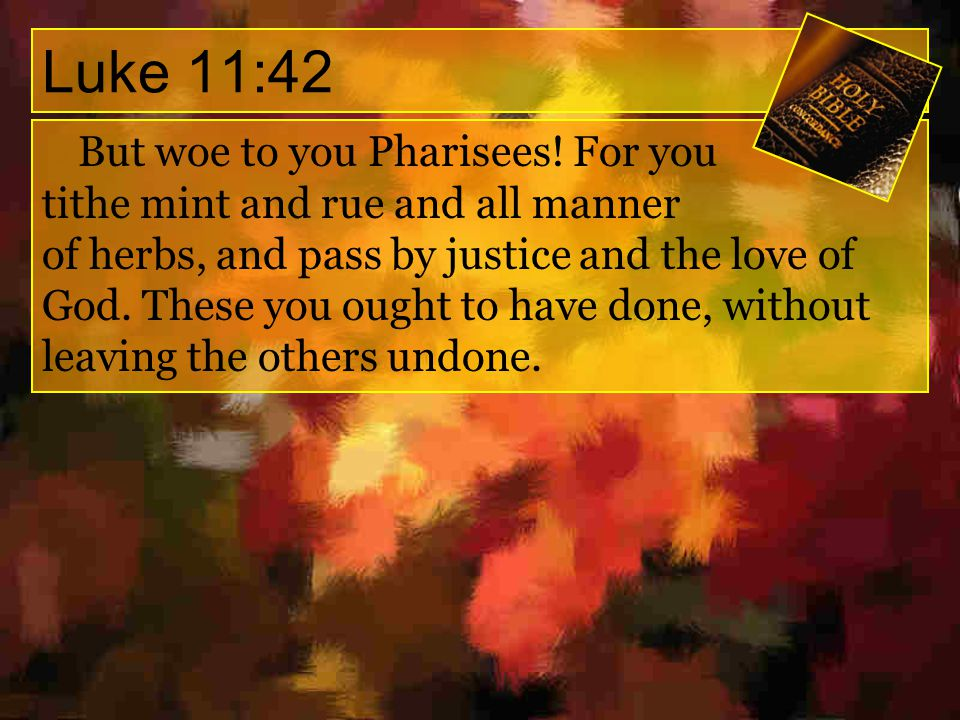 Proverbs 21:3 To do righteousness and justice Is more acceptable to the LORD than sacrifice.