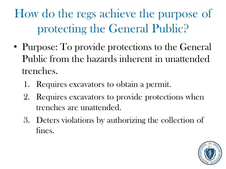 What are municipalities required to do.1.Establish a permitting authority.