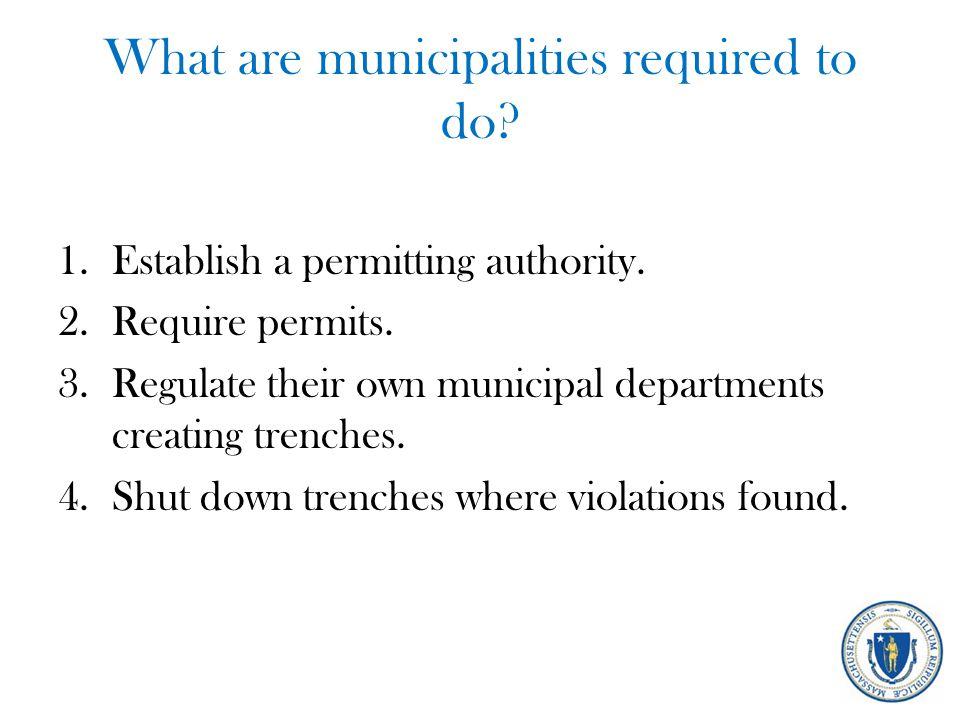 When do permitting authorities order an immediate shutdown.