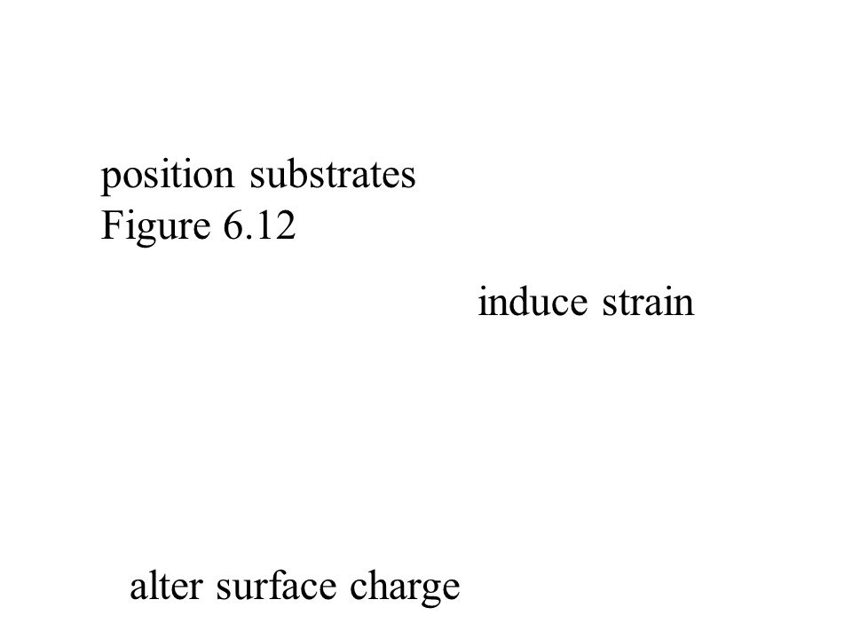 position substrates Figure 6.12 induce strain alter surface charge