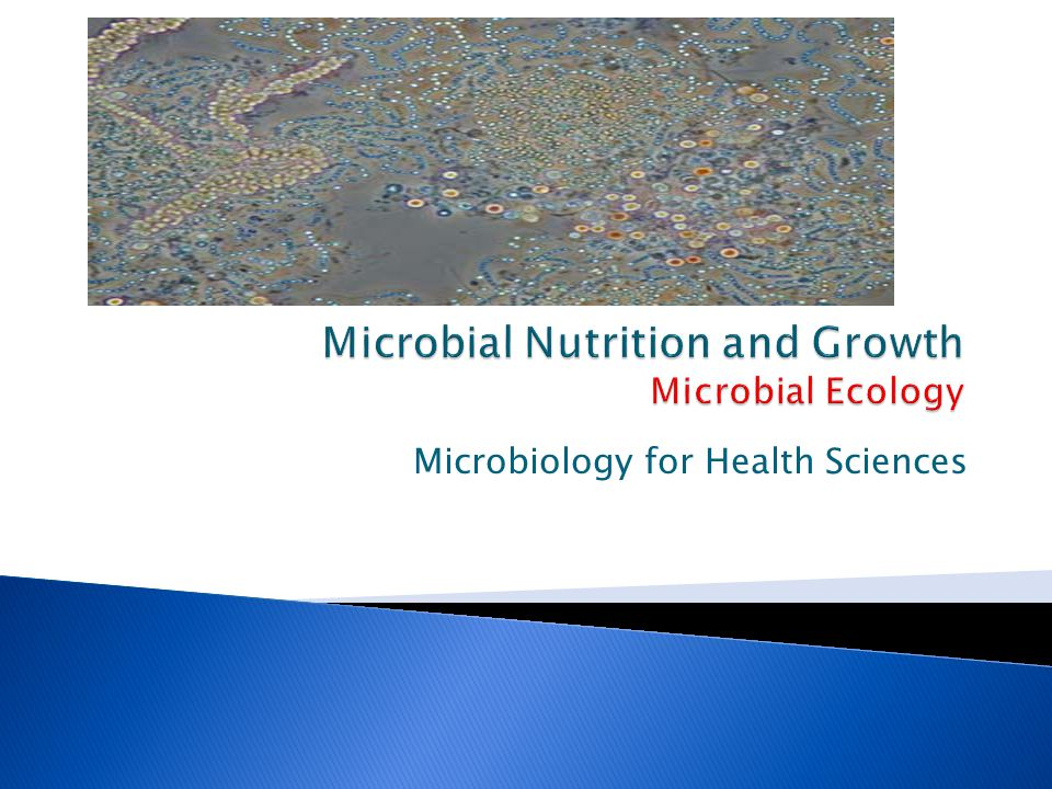 Microbiology for Health Sciences