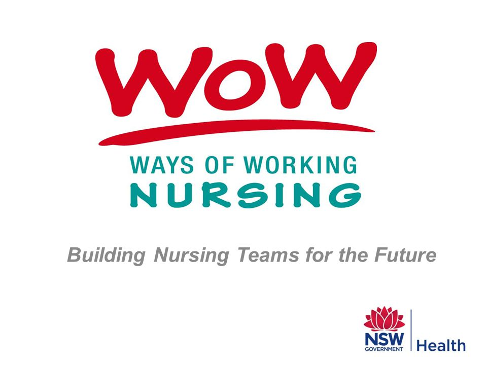 Building Nursing Teams for the Future