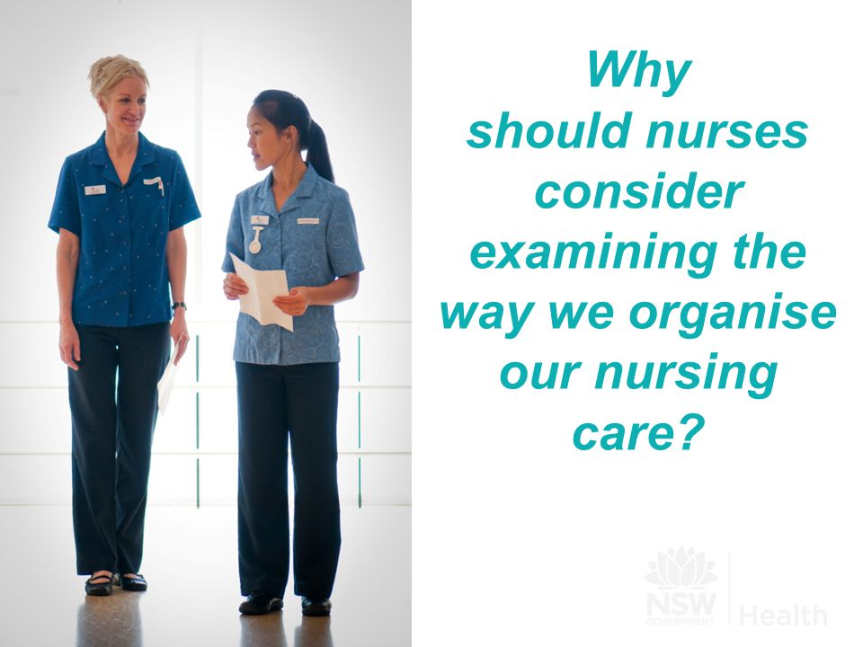 We are experiencing changes in our nursing workforce including:  The introduction of different levels of nurses  An aging workforce and  An increasing number of novice practitioners.
