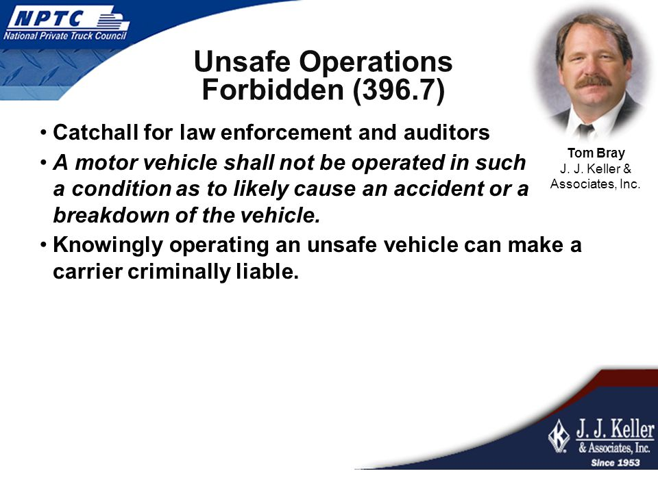 Purpose of DVIR To have an established procedure for drivers to perform pre and post trip inspections required by the Federal Motor Carrier Safety Regulation (FMCSR) The pre and post trip inspections recorded daily on the Driver Vehicle Inspection Report (DVIR) Help avoid DOT penalties and provide a sound basis for a good inspection and maintenance program.