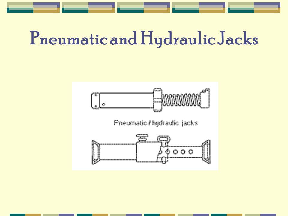 Pneumatic and Hydraulic Jacks