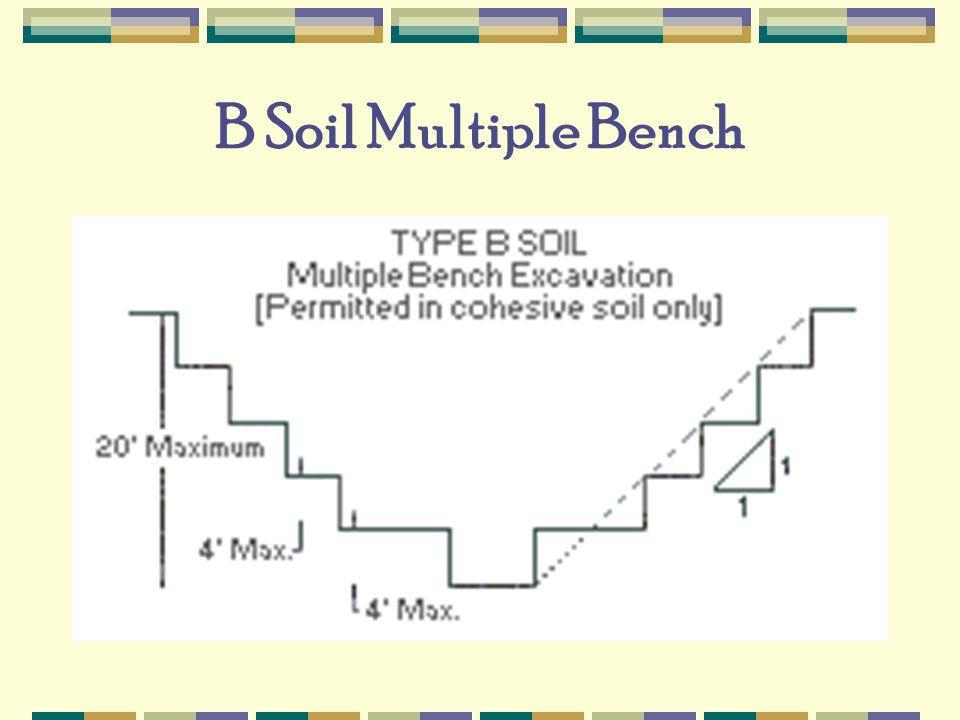 B Soil Multiple Bench