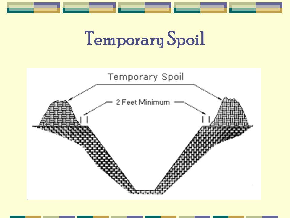 Temporary Spoil