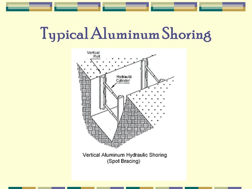 Typical Aluminum Shoring