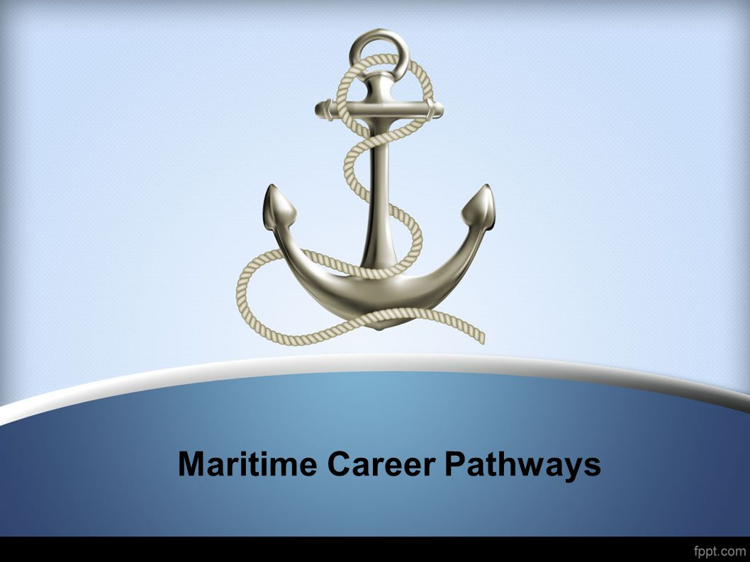 Maritime Career Pathways