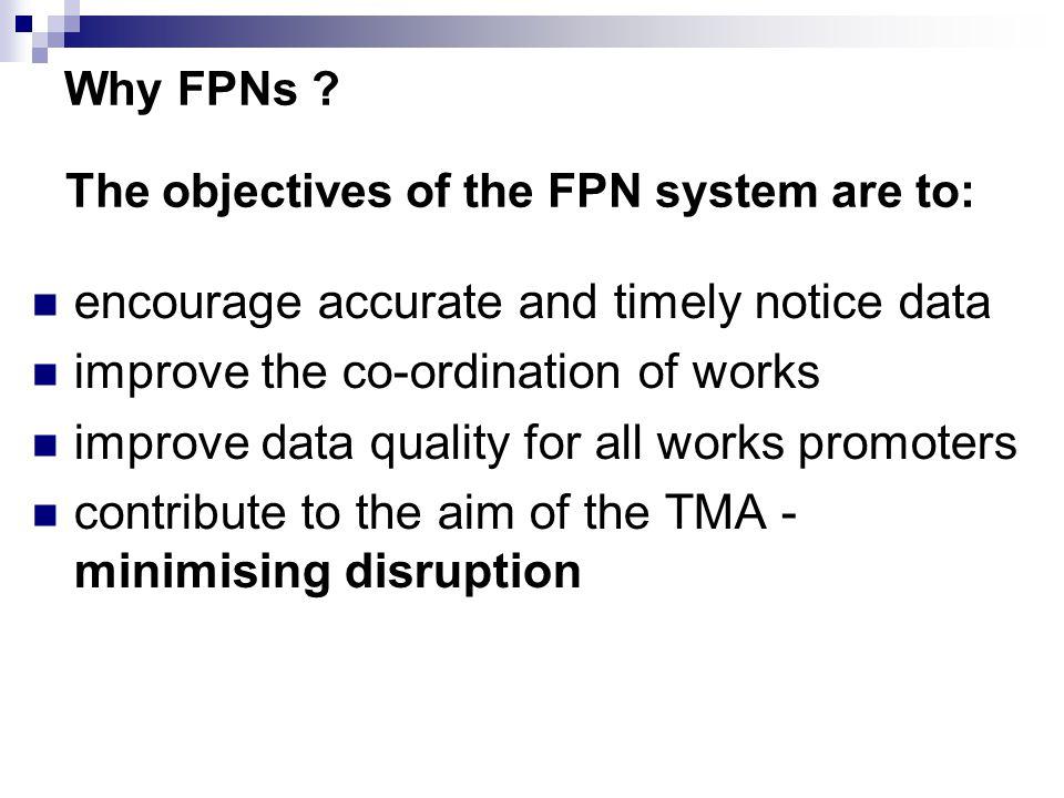 Why FPNs .