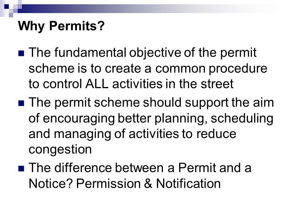 Why Permits.