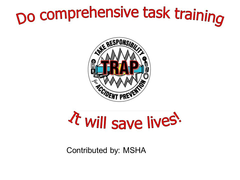 Contributed by: MSHA