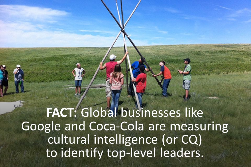 FACT: Global businesses like Google and Coca-Cola are measuring cultural intelligence (or CQ) to identify top-level leaders.