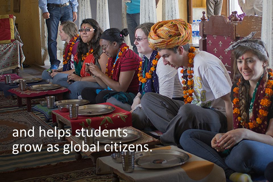 When young people understand—and experience—life on the global stage, they gain a rich and rewarding set of new skills.