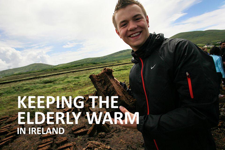 KEEPING THE ELDERLY WARM IN IRELAND