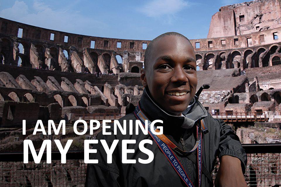 I AM OPENING MY EYES