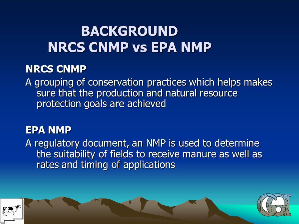CNMP vs NMP Requirement CNMP vs NMP Requirement A CNMP is not a regulatory document.