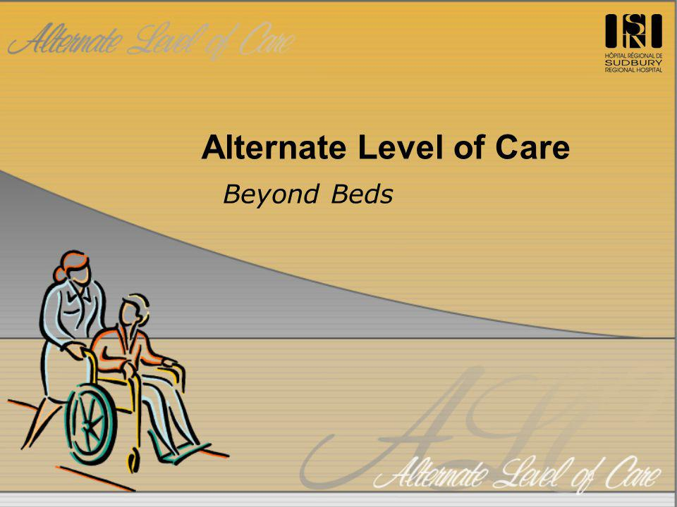 Alternate Level of Care Beyond Beds