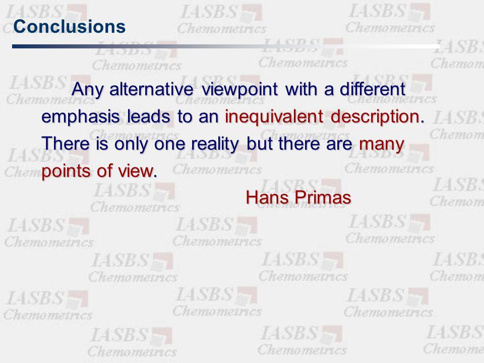 Properties of a molecular descriptor