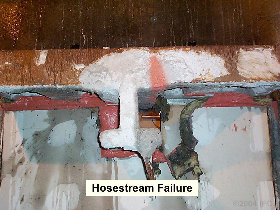 Saving Lives and Property Through Fire and Smoke Containment ©2004 IFC Hosestream Failure