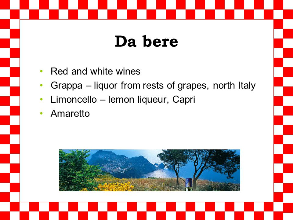 Sicilia Pasta alla siciliana Famous lemons La granita Ricotta
