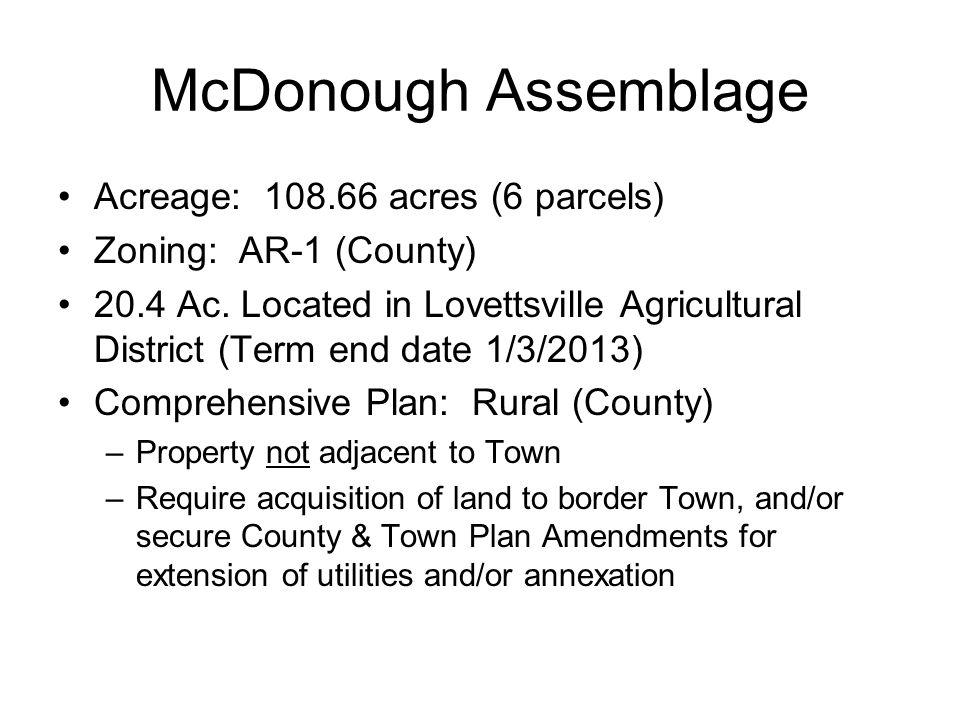 McDonough Assemblage Acreage: 108.66 acres (6 parcels) Zoning: AR-1 (County) 20.4 Ac.