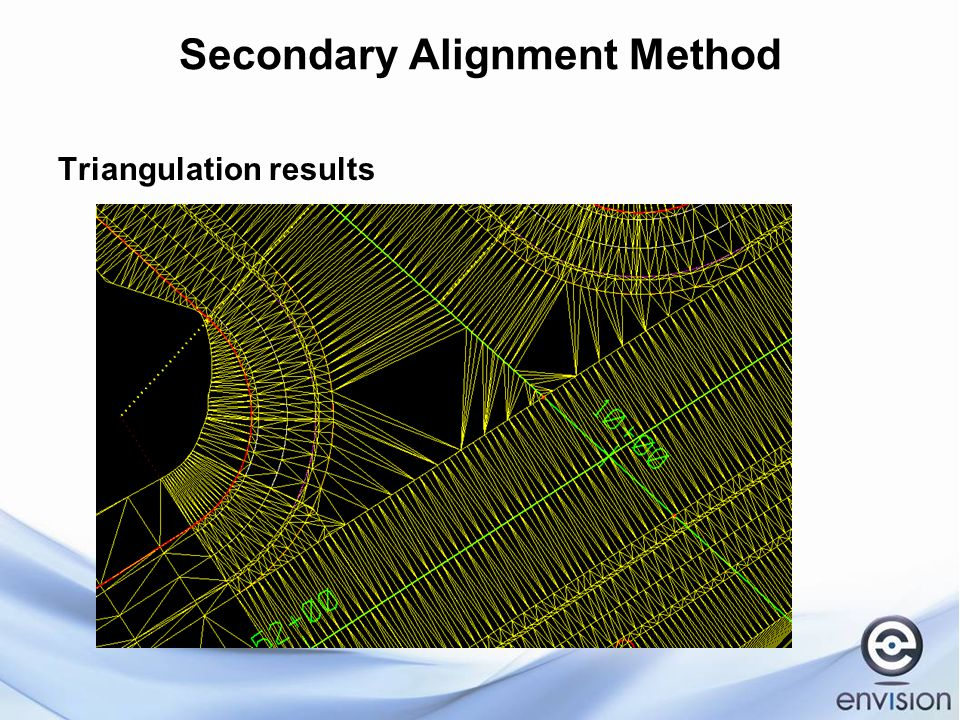 Secondary Alignment Method Triangulation results