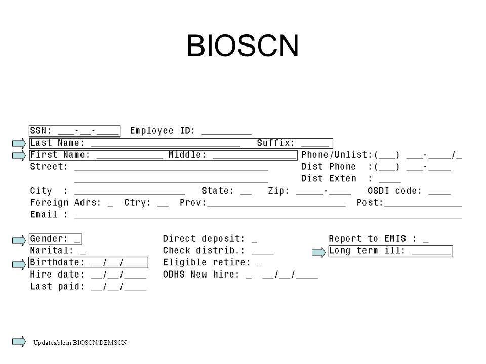 BIOSCN Updateable in BIOSCN/DEMSCN