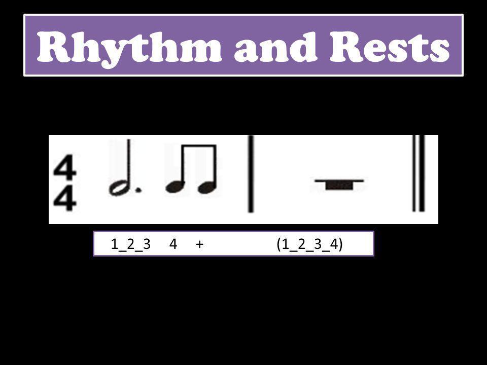 1_2_3 4 + (1_2_3_4) Rhythm and Rests