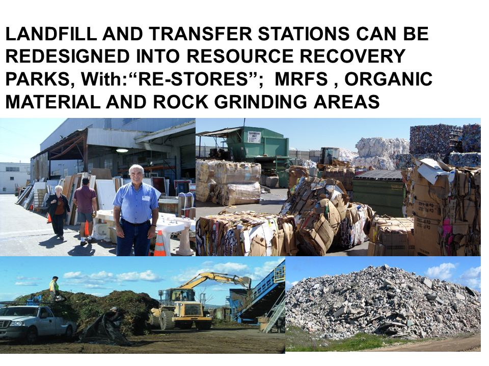 LOCAL ORDINANCES AND NEW RULES: 1.Require construction and demolition reuse and recycling plans; 2.Require separation at the source by the generator, of designated organics, reusable and recyclables (haulers Required to provide recycling services as a condition of their County permit); 3.Require Retailer take-back of non-recyclable, reusable or compostable products and materials 4.Local Planning and Zero Waste Plans.