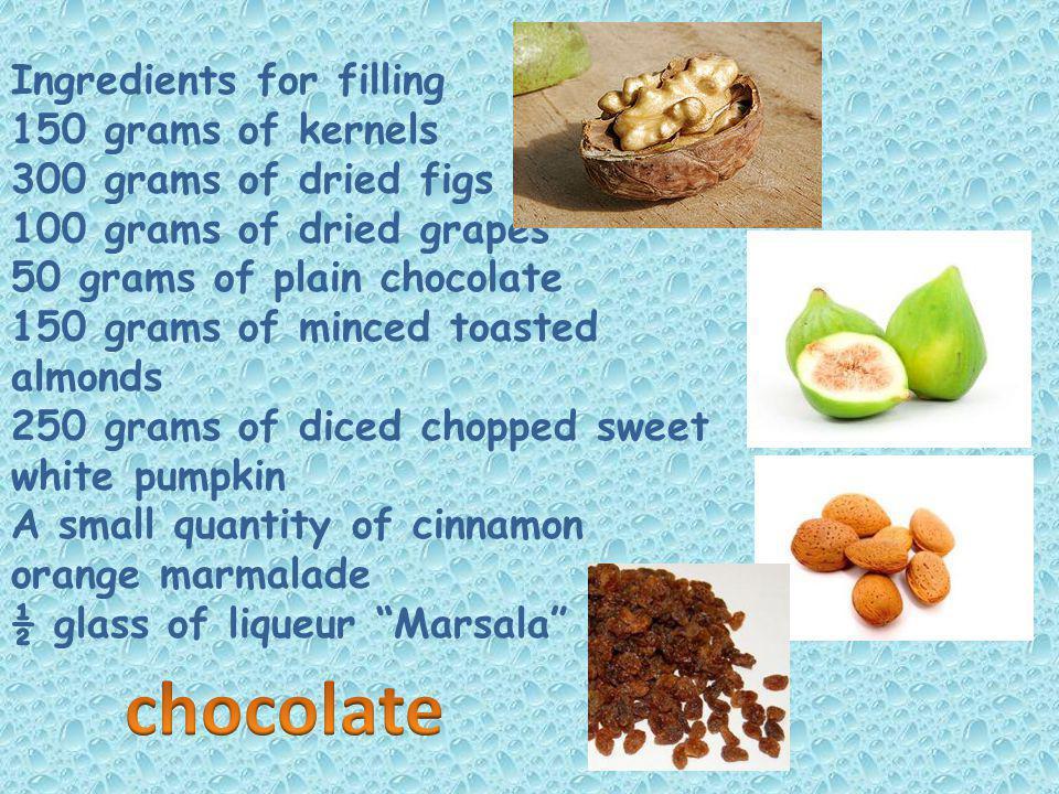 Ingredients: 1 kg of flour (type 00) 200 grams of sugar 300 grams of butter 3 eggs 1 dl.