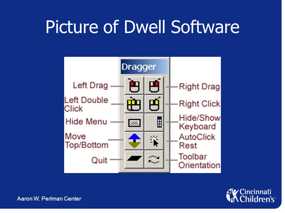 Aaron W. Perlman Center Picture of Dwell Software