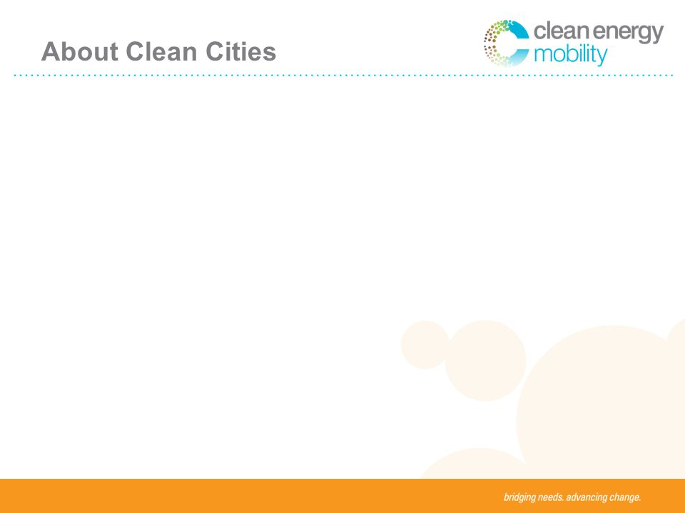About Clean Cities